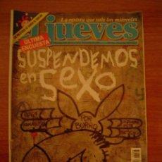 Coleccionismo de Revista El Jueves: REVISTA EL JUEVES -Nº1068 AÑO XXI DEL 12 AL 18 DE NOVIEMBRE 1997 CONTIENE POSTER . Lote 17871566