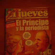 Coleccionismo de Revista El Jueves: EL JUEVES -Nº1381 AÑO XXVI DEL 12-18 DE NOVIEMBRE DE 2003 CONTIENE POSTER . Lote 18011881