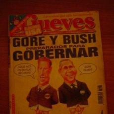 Coleccionismo de Revista El Jueves: REVISTA EL JUEVES Nº 1223 -DEL 1 AL 7 DE NOVIEMBRE 2000 CONTIENE POSTER . Lote 18275026