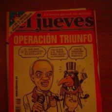 Coleccionismo de Revista El Jueves: REVISTA EL JUEVES Nº 1278 AÑO XXIV DEL 21-27 DE NOVIEMBRE DE 2001 CONTIENE POSTER . Lote 18275870