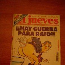 Coleccionismo de Revista El Jueves: REVISTA EL JUEVES Nº1277 AÑO XXIV DEL 14-20 DE NOVIEMBRE 2001 CONTIENE POSTER . Lote 18441283