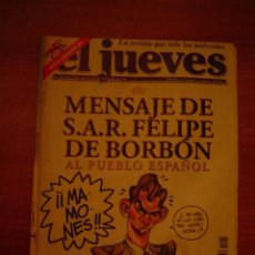 Coleccionismo de Revista El Jueves: REVISTA EL JUEVE Nº1268 DEL 12-18 SETIEMBRE 2001 CONTIENE POSTER . Lote 18492965