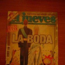 Coleccionismo de Revista El Jueves: REVISTA EL JUEVE Nº 1408 AÑO XXVII DEL 19-25 MAYO 2004 . Lote 18493009