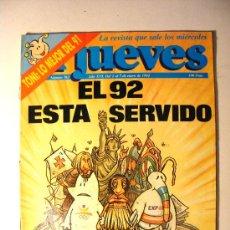 Coleccionismo de Revista El Jueves: EL JUEVES, AÑO XVI, 1992, Nº 762. Lote 18507008
