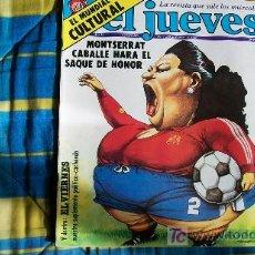 Coleccionismo de Revista El Jueves: EL JUEVES-Nº245-EL MUNDIAL CULTURAL-1982. Lote 19760057
