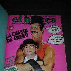 Coleccionismo de Revista El Jueves: (M-2) REVISTA EL JUEVES , DEL NUMERO 85 AL 100, TODOS SEGUIDOS, NUM 85 - 1979 ., NUM 100 - 1979. Lote 22619694