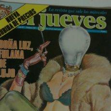 Coleccionismo de Revista El Jueves: EL JUEVES 192 DOÑA LUZ FULANA DE LUJO. Lote 26362273
