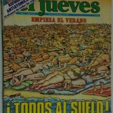 Coleccionismo de Revista El Jueves: EL JUEVES 212 JUNIO DE 1981 TODOS AL SUELO. Lote 26362276
