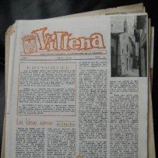 Coleccionismo de Revista El Jueves: VILLENA PUBLICACIÓN CULTURAL E INFORMATIVA DE LA COMARCA Nº6 JUNIO1968 EL MERCADO D LOS JUEVES CHAPÍ. Lote 27503687