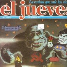 Coleccionismo de Revista El Jueves: EL JUEVES Nº 27 25 DE NOVIEMBRE DE 1977. Lote 26883518