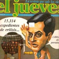 Coleccionismo de Revista El Jueves: EL JUEVES Nº 30 16 DE DIEMBRE DE 1977. Lote 26883556