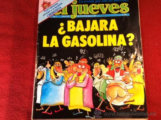 REVISTA EL JUEVES Nº 207,MAYO 1981 (Coleccionismo - Revistas y Periódicos Modernos (a partir de 1.940) - Revista El Jueves)