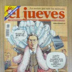 Coleccionismo de Revista El Jueves: REVISTA EL JUEVES. 1327. NOVIEMBRE 2002.. Lote 29506998