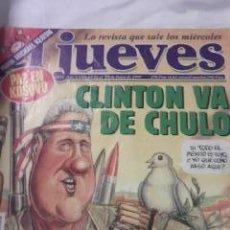 Coleccionismo de Revista El Jueves: EL JUEVES CLINTON VA DE CHULO Nº 1152 DE 1999. Lote 29971141
