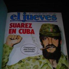 Coleccionismo de Revista El Jueves: EXTRAORDINARIO LOTE REVISTA EL JUEVES AÑOS 1978-1979 (( 28 REVISTAS)))TODAS CON SU POSTER CENTRAL. Lote 30547934