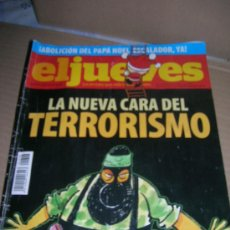 Coleccionismo de Revista El Jueves: EL JUEVES, Nº 1648. AÑO 2008. ¡ABOLICION DEL PAPA NOEL ESCALADOR, YA!. LA NUEVA CARA DEL TERRORISMO.. Lote 31277699