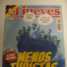 Coleccionismo de Revista El Jueves: EL JUEVES, Nº 1316, DEL 14-20 DE AGOSTO DE 2002. Lote 33308290