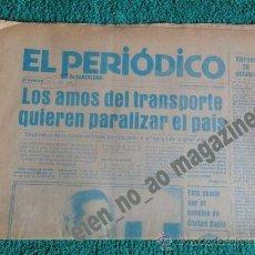 Coleccionismo de Revista El Jueves: EL PERIODICO DE CATALUNYA BARCELONA, Nº 00000 20-OCTUBRE-1978 ~ TINTA AZUL MUY RARO ANTERIOR AL Nº 1. Lote 34282303