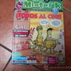 Coleccionismo de Revista El Jueves: MISTER K Nº 7, POSTER FERNANDO ALONSO, TODOS AL CINE, EL JUEVES, CON CARTAS D E REGALO. Lote 36286149