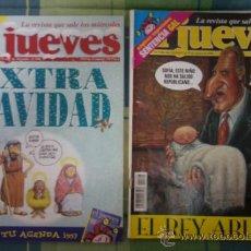 Coleccionismo de Revista El Jueves: LA REVISTA QUE SALE LOS MIERCOLES - EL JUEVES NUMEROS 1020-1106.. Lote 37816123