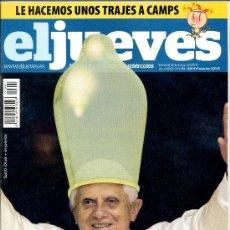 Coleccionismo de Revista El Jueves: REVISTA - EL JUEVES 1661 / 2009. Lote 38659792