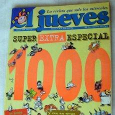 Coleccionismo de Revista El Jueves: 4 REVISTAS EL JUEVES. Lote 39160321