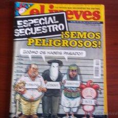 Coleccionismo de Revista El Jueves: EL JUEVES - Nº 1575 - 7 DE AGOSTO DE 2007. Lote 39507824