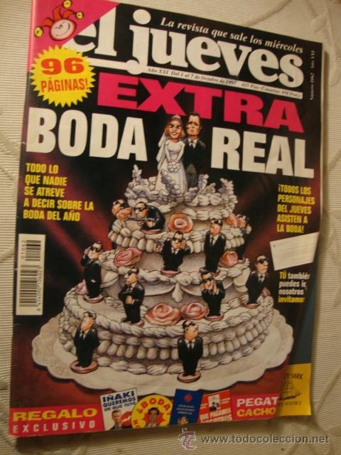 COMIC REVISTAS EL JUEVES EXTRA BODA REAL URDANGARIN (Coleccionismo - Revistas y Periódicos Modernos (a partir de 1.940) - Revista El Jueves)
