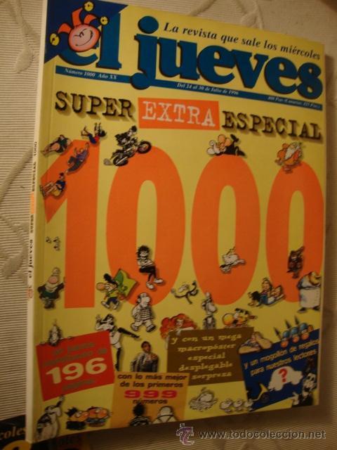 COMIC REVISTAS EL JUEVES EXTRA SUPER ESPECIAL 1000 (Coleccionismo - Revistas y Periódicos Modernos (a partir de 1.940) - Revista El Jueves)