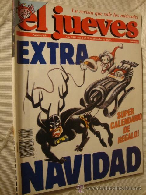 COMIC REVISTAS EL JUEVES EXTRA NAVIDAD BATMAN (Coleccionismo - Revistas y Periódicos Modernos (a partir de 1.940) - Revista El Jueves)