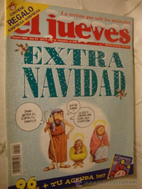 COMIC REVISTAS EL JUEVES EXTRA NAVIDAD (Coleccionismo - Revistas y Periódicos Modernos (a partir de 1.940) - Revista El Jueves)