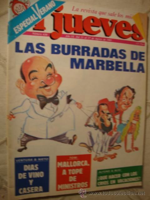 COMIC REVISTAS EL JUEVES ESPECIAL (Coleccionismo - Revistas y Periódicos Modernos (a partir de 1.940) - Revista El Jueves)