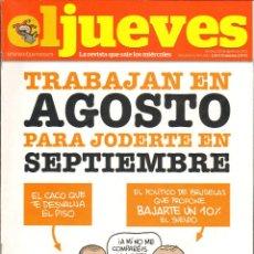 Coleccionismo de Revista El Jueves: REVISTA - EL JUEVES 1890 / 2013. Lote 40415850