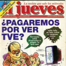 Coleccionismo de Revista El Jueves: EL JUEVES Nº 1091 AÑO 1998 POSTER DE VIZCARRA TORRENTE. Lote 41731607