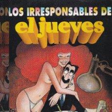 Coleccionismo de Revista El Jueves: LOS RESPONSABLES DEL JUEVES -15 AÑOS-. Lote 41851242