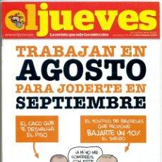 Coleccionismo de Revista El Jueves: REVISTA - EL JUEVES 1890 / 2013. Lote 94342235