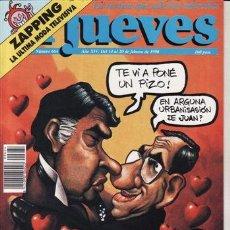 Coleccionismo de Revista El Jueves: REVISTA EL JUEVES Nº 664 AÑO 1990. SAN VALENTIN 90. . Lote 41893237