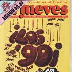 Coleccionismo de Revista El Jueves: REVISTA EL JUEVES Nº 658 AÑO 1990. ¡LOS 90!. . Lote 41894476