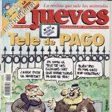 Coleccionismo de Revista El Jueves: REVISTAS EL JUEVES Nº 1029 AÑO 1997. TELE DE PAGO. . Lote 41897694