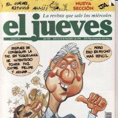 Coleccionismo de Revista El Jueves: REVISTA EL JUEVES Nº 967 AÑO 1995. CLINTON NOS VISITA. . Lote 41973282