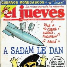 Coleccionismo de Revista El Jueves: REVISTA EL JUEVES Nº 1007 SEPTIEMBRE DE 1966 . Lote 42324321