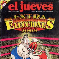 Coleccionismo de Revista El Jueves: REVISTA EL JUEVES Nº 1.606 MARZO DE 2008 . Lote 42324560