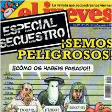 Coleccionismo de Revista El Jueves: REVISTA EL JUEVES Nº 1.575 AGOSTO DE 2007 . Lote 42324617