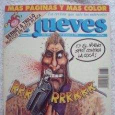 Coleccionismo de Revista El Jueves: REVISTA EL JUEVES. PUBLICIDAD SALVAJE. Nº 772. MARZO. 1992. Lote 211624859