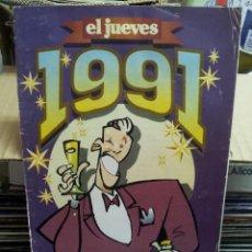 Coleccionismo de Revista El Jueves: AGENDA EL JUEVES 1991-1992. Lote 44030419