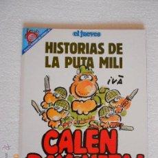 Coleccionismo de Revista El Jueves: COMIC HUMOR. EL JUEVES: HISTORIAS DE LA PUTA MILI CALEN BAYONETA Nº 82 NJ.E. Lote 44170043
