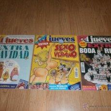 Coleccionismo de Revista El Jueves: 3 REVISTAS EL JUEVES AÑOS 1996-1997-1997.. Lote 44967096