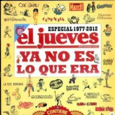 Coleccionismo de Revista El Jueves: ESPECIAL 1977 2012 EL JUEVES. Lote 45006545
