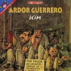 Coleccionismo de Revista El Jueves: MARTINEZ EL FACHA - ARDOR GUERRERO . Lote 45223275