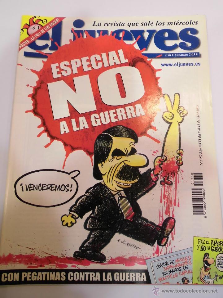 REVISTA EL JUEVES NUMERO 1350 (Coleccionismo - Revistas y Periódicos Modernos (a partir de 1.940) - Revista El Jueves)
